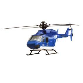 Helicóptero Eurocopter BK 117  c/ movimento (Az.)