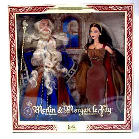 Merlin & Morgan Le Fay