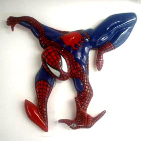 Homem Aranha porta fio dental