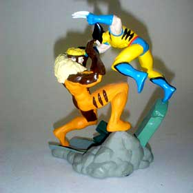 Wolverine vs Dente Sabre