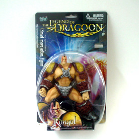 Rongol The Legend of Dragoon Blue Box Toys action figures