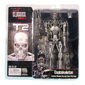 T2 T-800 Endoskeleton (Cult Classics 3) Exterminador do Futuro