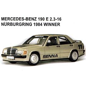 Senna - M. Benz 190 E (1984)