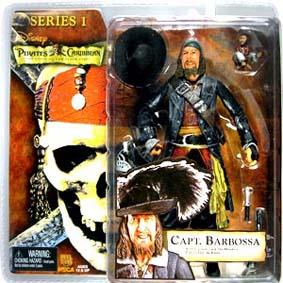 Captain Barbossa (Piratas do Caribe série 1)