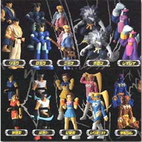 Capcom All Stars - 20 bonecos