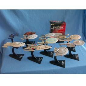 Naves do Star Trek (conjunto com 10)
