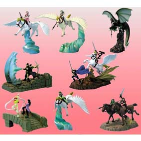 Fire Emblem II - 8 dioramas