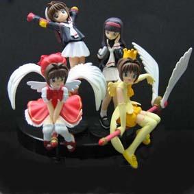Sakura (4 bonecos)