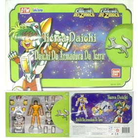 Daichi Da Armadura Da Terra - Boneco Cavaleiros dos Zodíaco