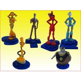 Robots Bonecos do filme Robôs da Fox