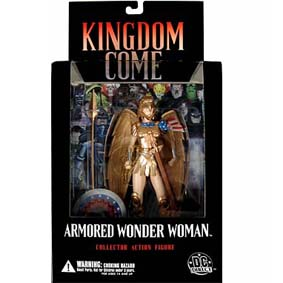 Mulher Maravilha Kingdom Come (série 3)