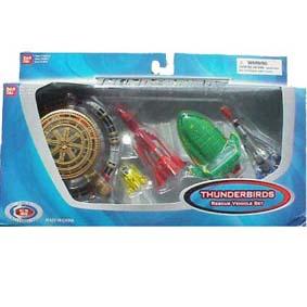 Thunderbirds Filme (5 pçs)