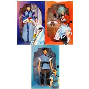 Tenchi Muyo trio (Ayeka, Masaki, Ryoko)
