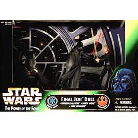 Final Jedi Duel (Palpatine, Darth Vader, Luke Skywalker)