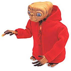 E.T. Interativo/Eletrônico (300 words) O Extraterrestre The Extra Terrestrial Figure