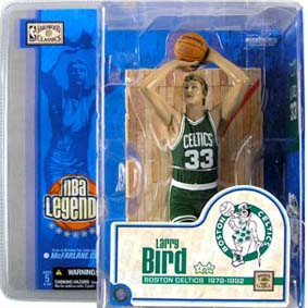 Larry Bird Nba Legends Series 1 Arte Em Miniaturas