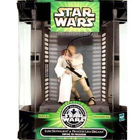Luke Skywalker e Princess Leia