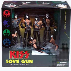 Kiss Love Gun Deluxe Box Set