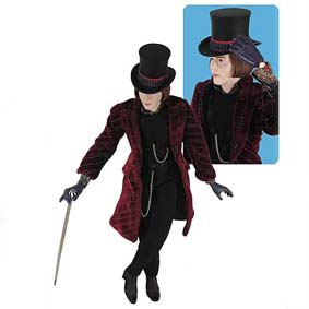 Willy Wonka (roupa de tecido)
