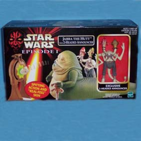 Jabba The Hutt  with 2- Headed Announcer