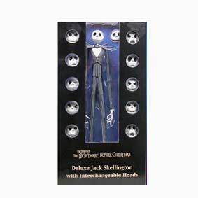 Deluxe Jack Skellington Interchangeable Heads (Tim Burton)