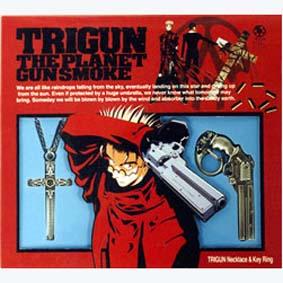Trigun (Colar + Chaveiro)