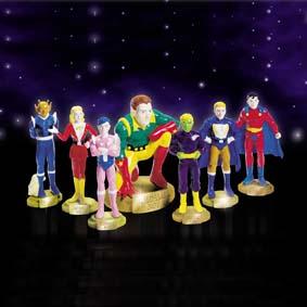 Legion of Super Heroes (cj. 7 pers.)