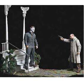 Halloween Michael Myers e Dr Loomis
