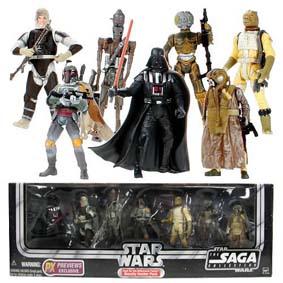 Star Wars Bounty Hunters Gift Set