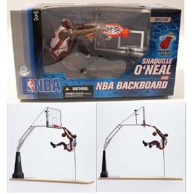 Shaquille ONeal + Backboard