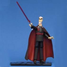 Count Dooku Clone Wars (aberto)