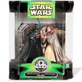 Obi Wan Kenobi and Darth Vader Final