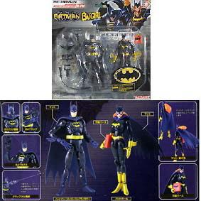 Batman e Batgirl (30 pts de articulação)
