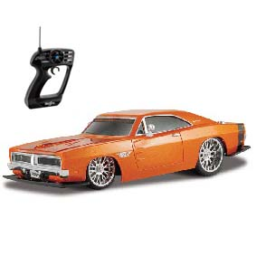 Dodge Charger R/T R/C (1969) controle remoto