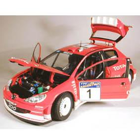 Peugeot 206 WRC M. Gronholm (2003)