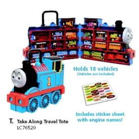 Thomas Take Along Porta trens (não acompanha trens)