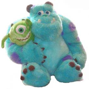 Sulley e Mike (dupla)