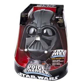 Capacete Darth Vader (muda a voz)
