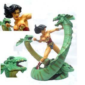 Mulher Maravilha Vs Hydra