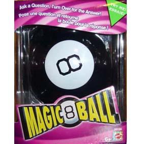 Magic 8 Ball (20 respostas em inglês)