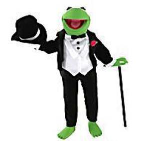Caco Kermit  (aberto) The Muppet Show