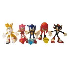 Conjunto Sonic X (aberto)