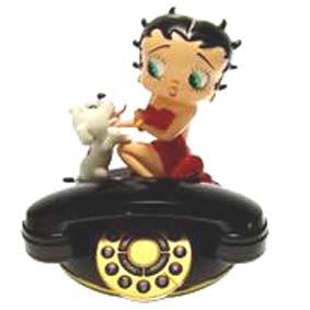 Telefone Betty Boop sentada