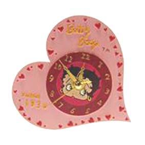 Betty Boop relógio de mesa