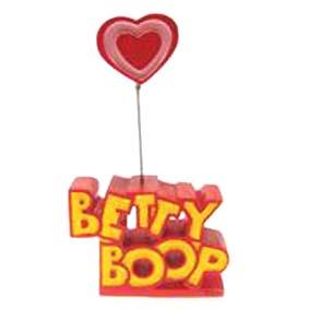 Betty Boop porta recado c/ logo
