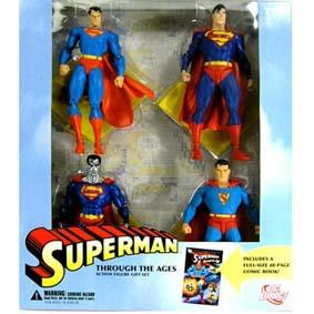 Superman Ages conjunto