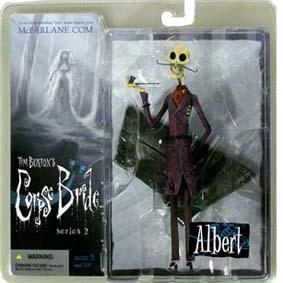 Albert the Pipe Smoker (série 2) A Noiva Cadáver Corpse Bride