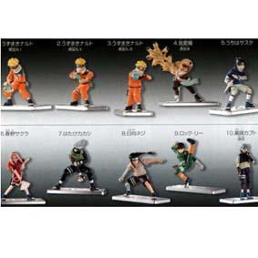Naruto cj. 10 pçs