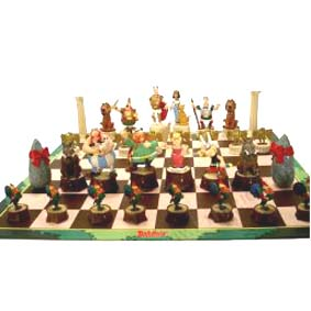 Xadrez do Asterix (tabuleiro 42 cm X 42 cm)