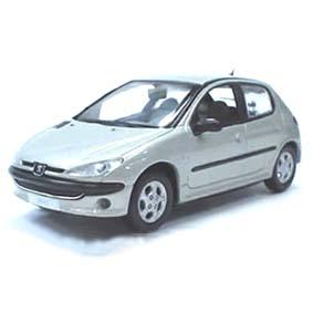 Peugeot 206  (antena atrás)